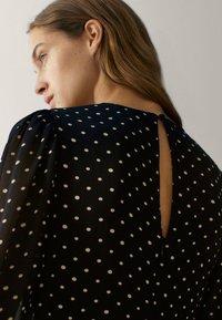 Massimo Dutti - MIT TUPFEN  - Maxi dress - black - 2