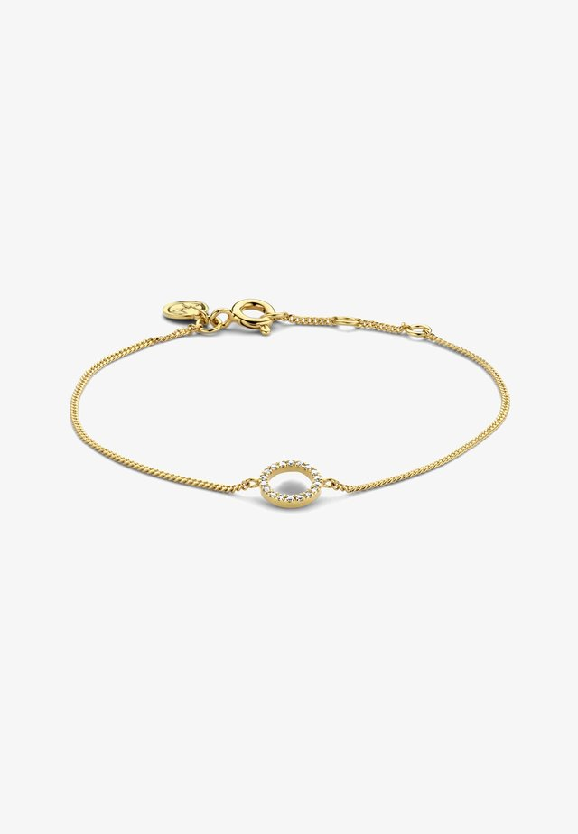 FULL CIRCLE OF LIFE DIAMOND BRACELET - Bracelet - 18k yellow gold vermeil