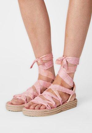 POWER - Sandals - rose