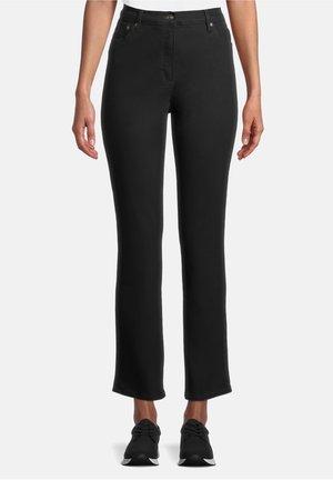 MIT AUFGESETZTEN TASCHEN - Jeans Straight Leg - schwarz