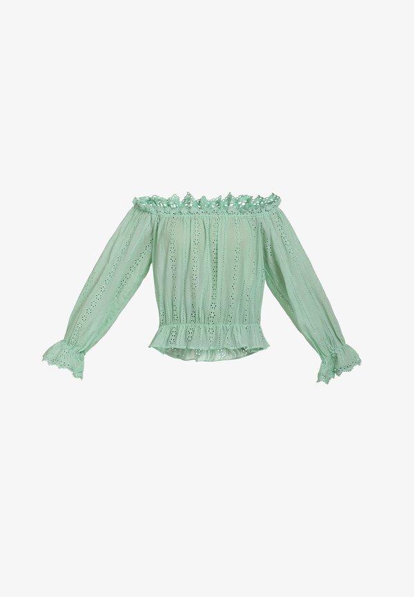 myMo BLUSE - Bluzka - mint/zielony XYTQ