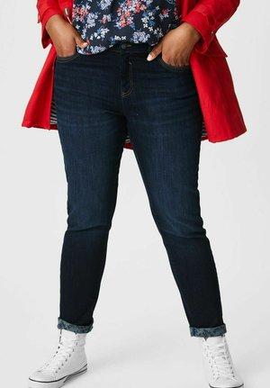 Slim fit jeans - jeans-dunkelblau