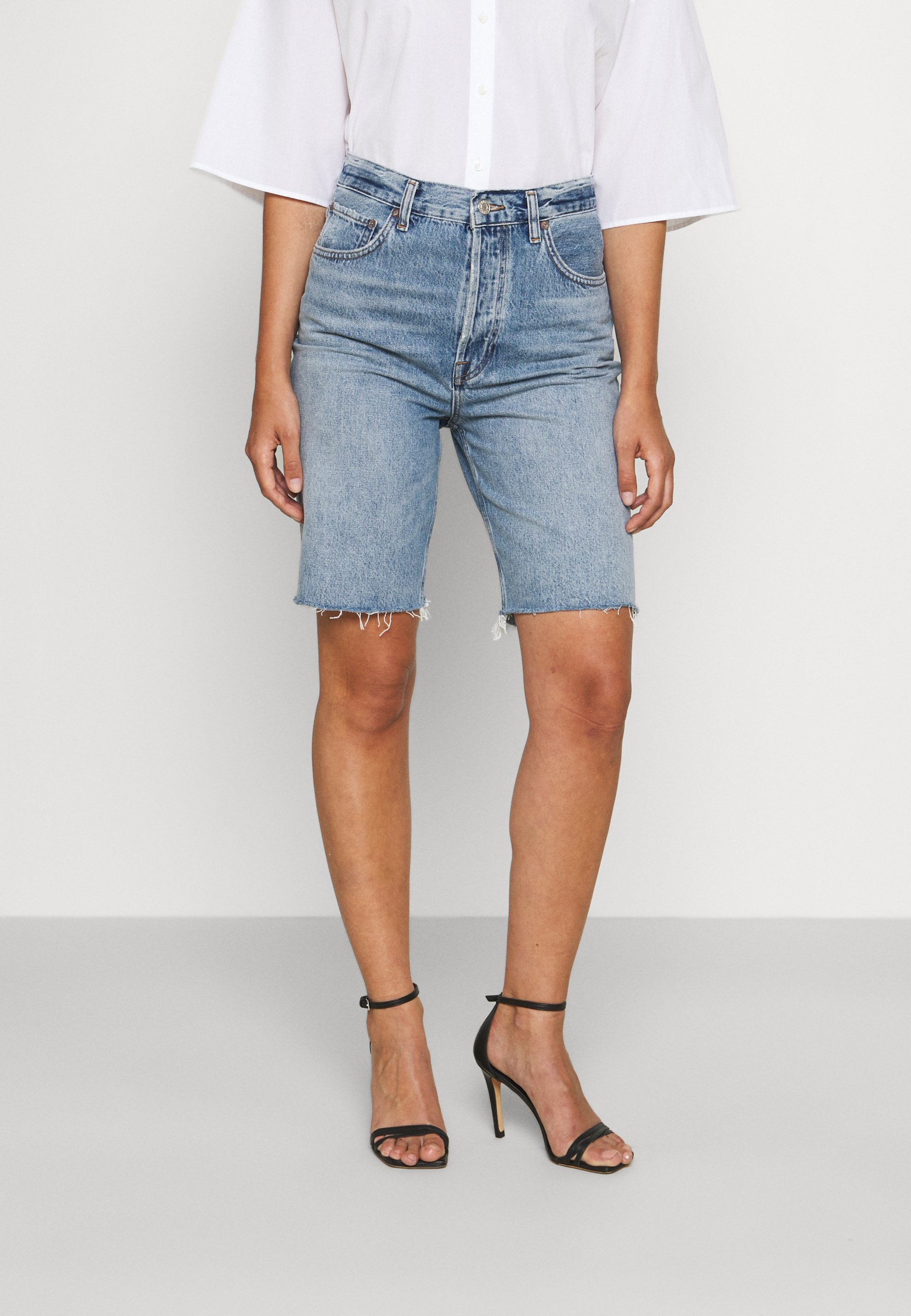 Damer 90'S PINCH  - Jeans Short / cowboy shorts - marquee