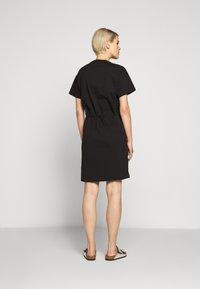 HUGO - NOMELIA - Vestito di maglina - black - 2