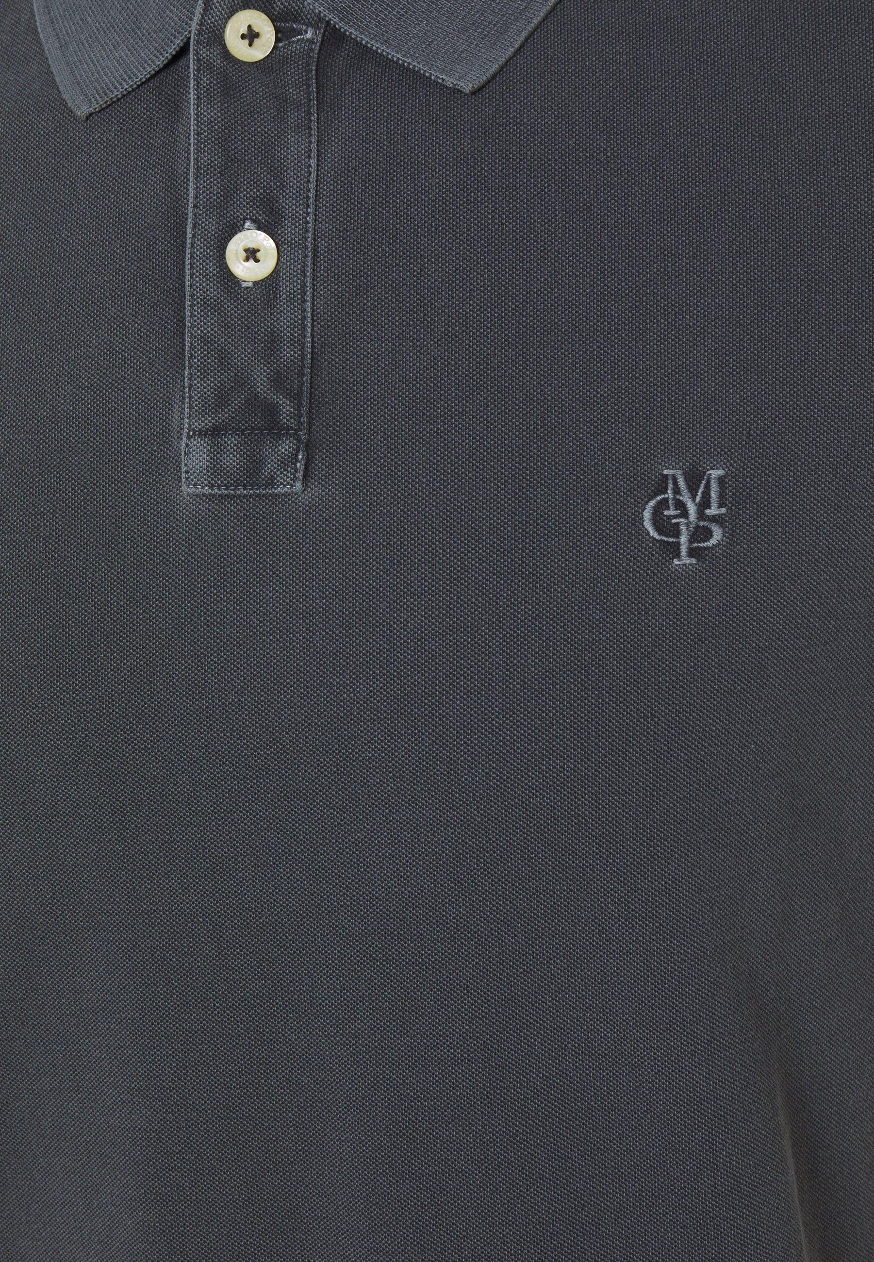 Men SHORT SLEEVE BUTTON PLACKET COLLAR AND CUFF - Polo shirt