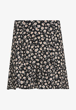 DAISY FLORAL FLIPPY - Shorts - black