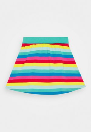 RAINBOW SKIRT WITH INTEGRAL SHORT - Mini skirts  - multi