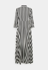 YAS - YASSAVANNA LONG DRESS - Maxi dress - black/ white stripes
