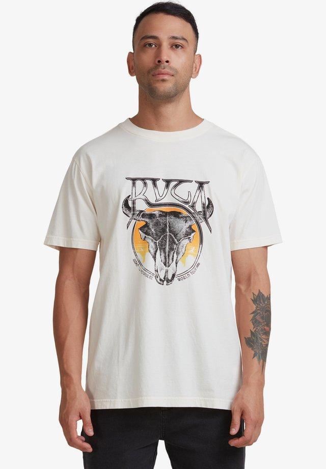 VALLEY - T-shirt print - bleached