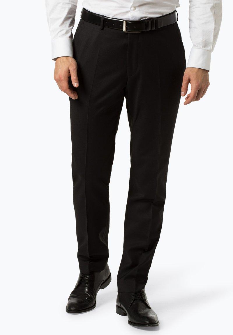 Andrew James - Suit trousers - black