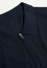 Mango - Polo shirt - marineblauw - 5