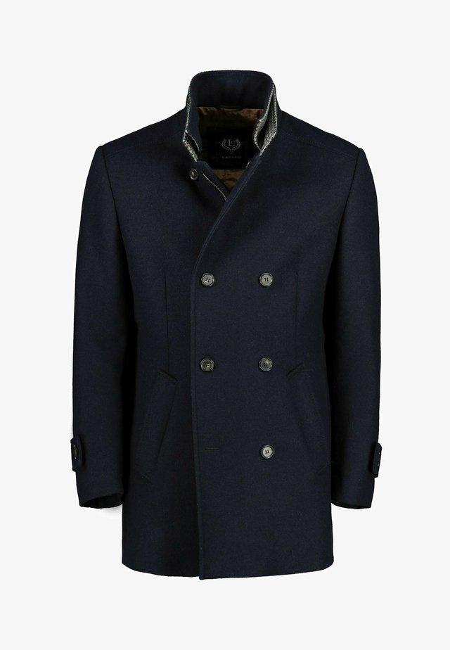 Halflange jas - dunkelblau