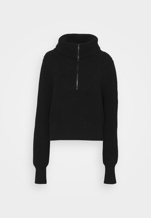 MENTONE - Jumper - black