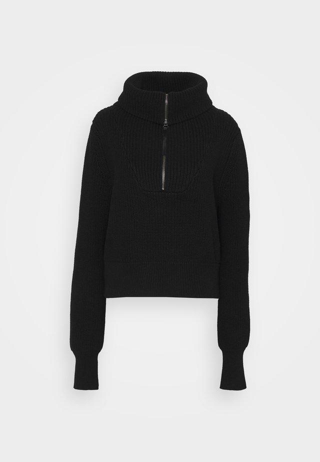MENTONE - Pullover - black