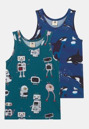 2 PACK - Camiseta interior - dark blue