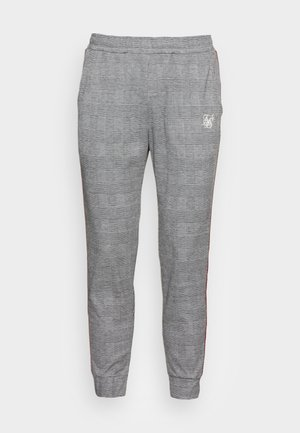 DELUXE DOGTOOTH PANTS - Träningsbyxor - black/white