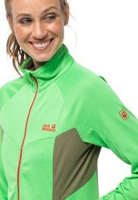 Jack Wolfskin - GRADIENT  - Fleece jacket - summer green - 2