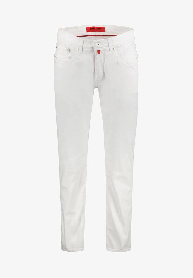 Slim fit jeans - weiss