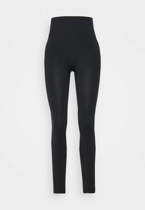 FLEX LEGGING SEAMLESS - Collants - black