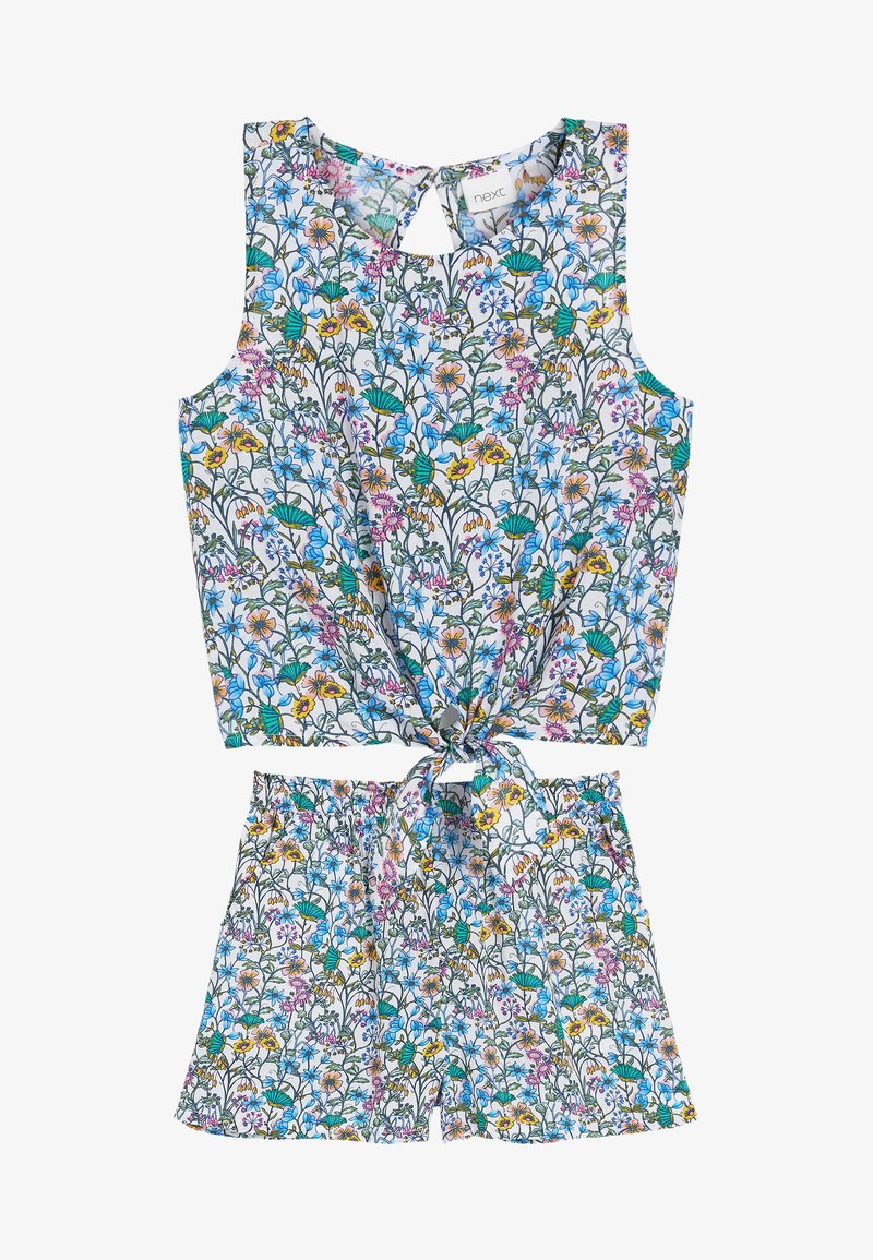 Next - SET - Shorts - blue