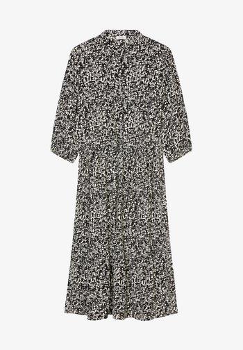 DRESS - Shirt dress - multi/black