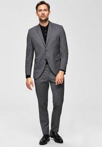 Selected Homme - Anzughose - dark grey melange - 1