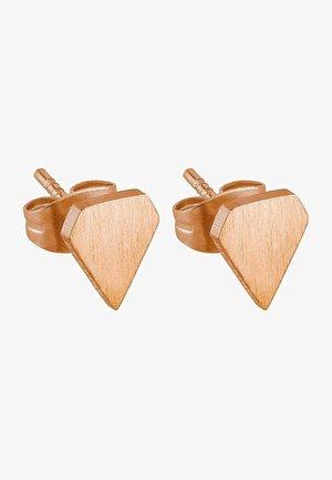 Earrings - rosegold-coloured
