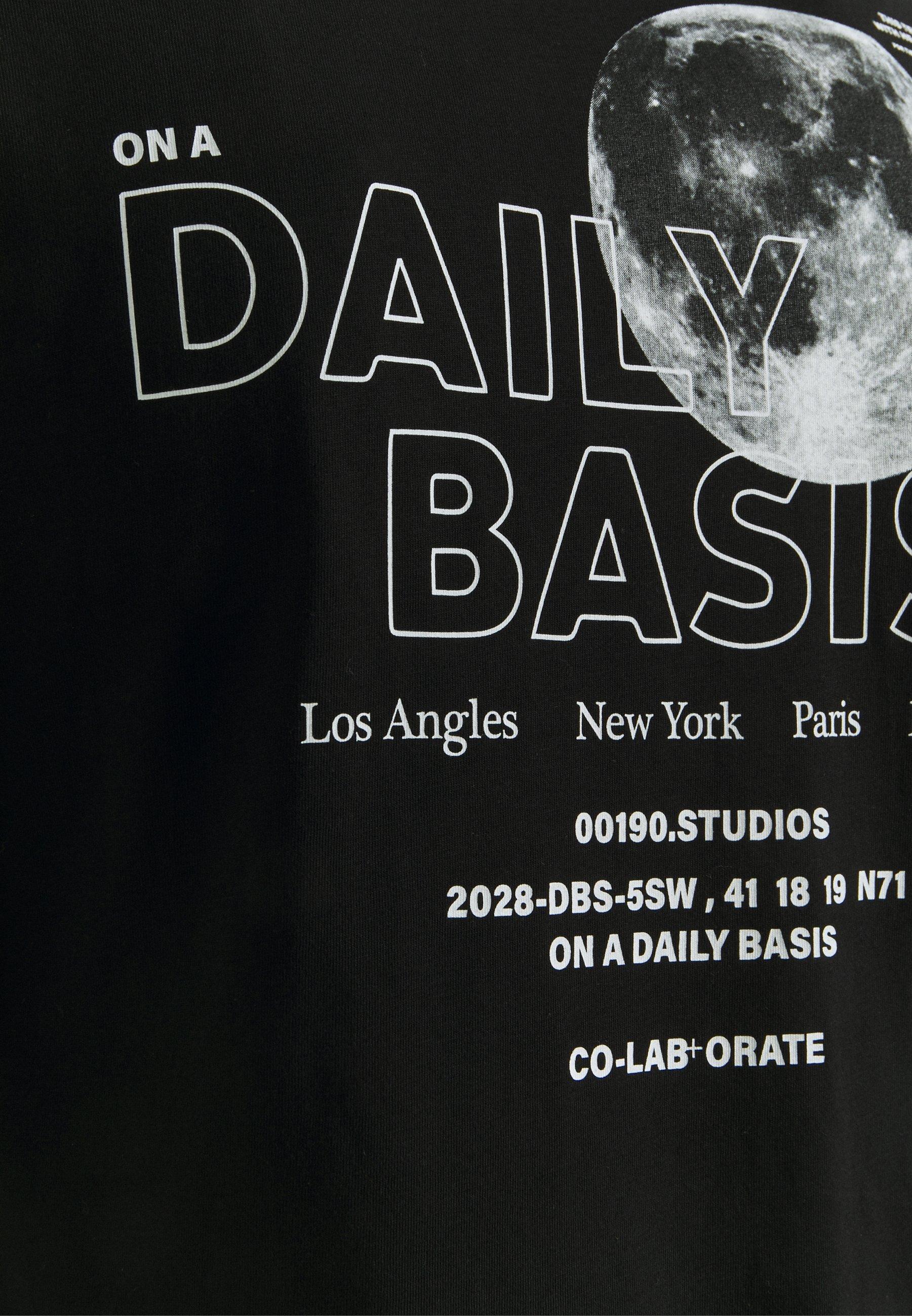 Women MOON TEE UNISEX - Print T-shirt