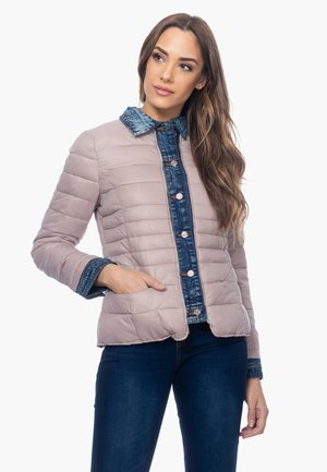 ANORAK MIT DETAIL AN AUSSCHNITT, MANSCHETTEN UND KN - Light jacket - rosa