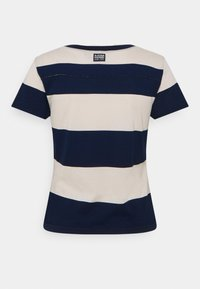 G-Star - WIDE STRIPE TEE - Print T-shirt - whitebait/sartho blue rugby - 1