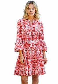 Amy Vermont - Day dress - weiß rot - 0