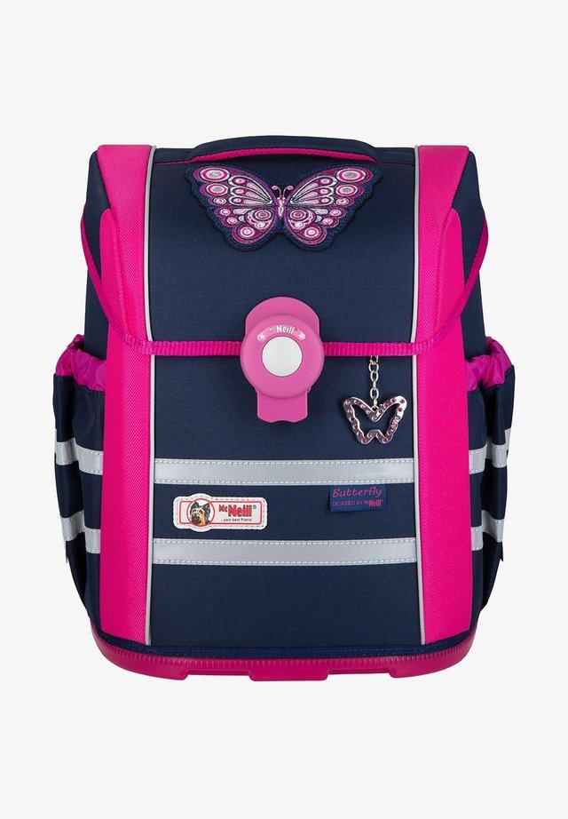 School bag - blue/pink/purple