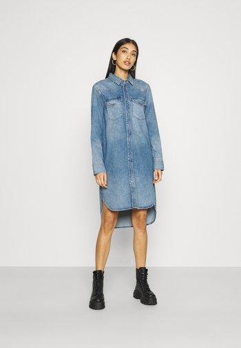 BLANCHE - Denim dress - denim blue