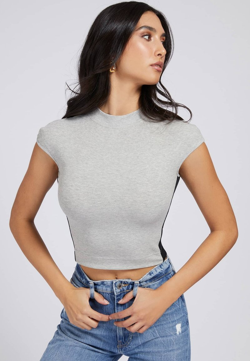 Guess - Basic T-shirt - hellgrau