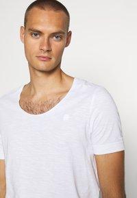 G-Star - ALKYNE SLIM  - T-shirt basic - white - 5