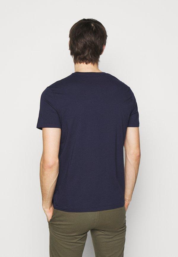 Polo Ralph Lauren T-shirt z nadrukiem - cruise navy/granatowy Odzież Męska TWFT