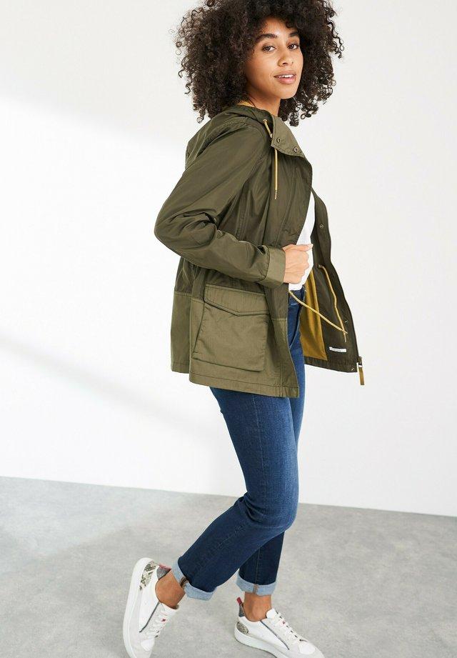 Summer jacket - dunkelgrün