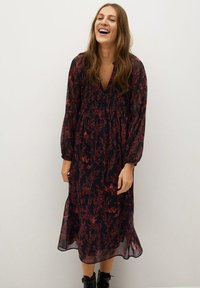 Mango - SIAM - Shirt dress - schwarz - 0