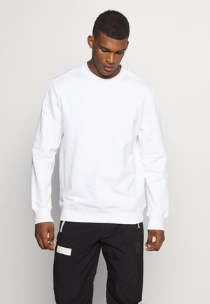 HOOPS CREW - Sweatshirt - white