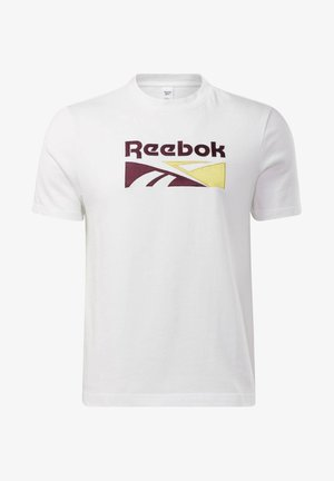 CLASSICS SPLIT VECTOR T-SHIRT - Print T-shirt - white