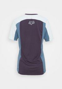 Fox Racing - DEFEND - T-shirt z nadrukiem - dark purple - 1