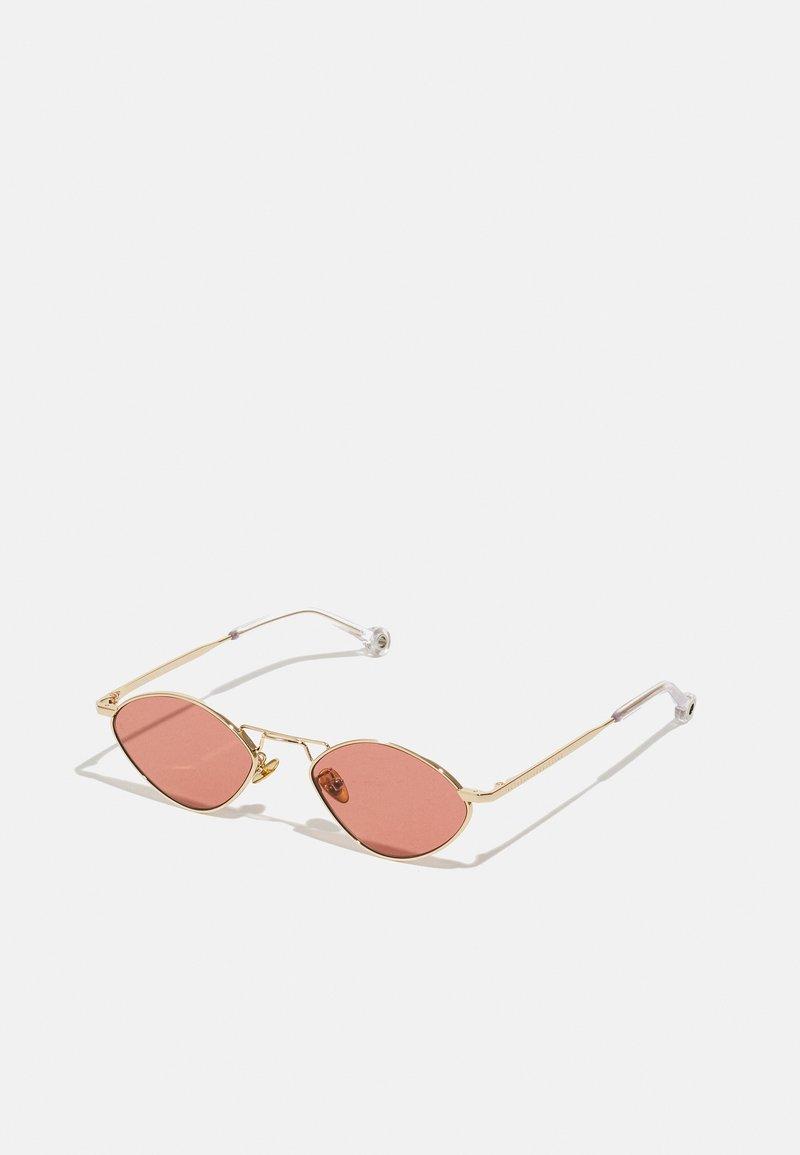 Études - DREAM UNISEX - Sunčane naočale - gold-coloured/pink