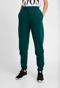 Even&Odd - Pantalones deportivos - teal - 0