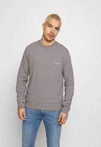 Calvin Klein - SMALL CHEST LOGO - Sweatshirt - grey - 0