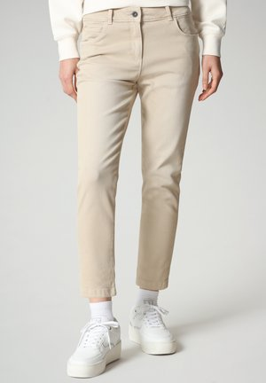 MULLEY - Relaxed fit jeans - natural beige