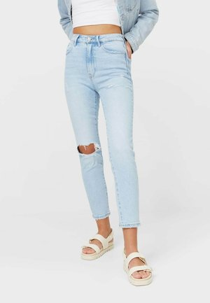 Jeansy Relaxed Fit - light blue