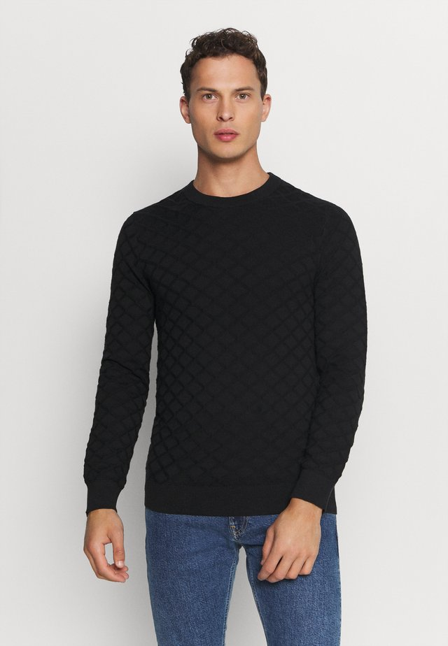 DIAMOND  - Jumper - black