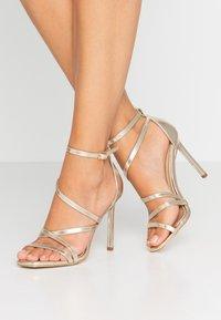 BEBO - OSSIAN - High heeled sandals - gold - 0