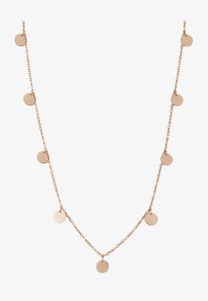 KREIS PLÄTTCHEN GEO - Collier - rose gold-coloured