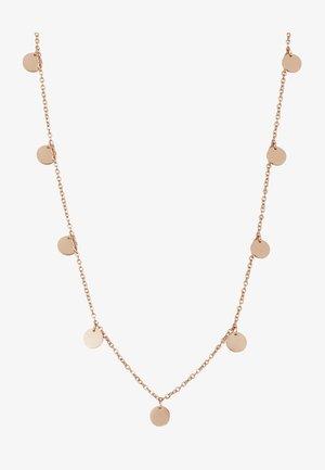 KREIS PLÄTTCHEN GEO - Collar - rose gold-coloured